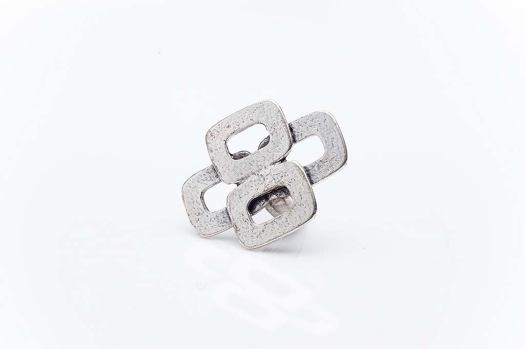 Посребрен пръстен КН-0303004060