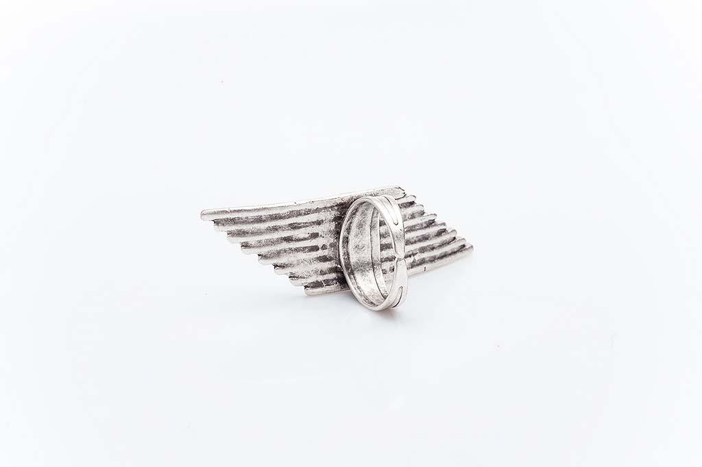 Посребрен пръстен КН-0303004061