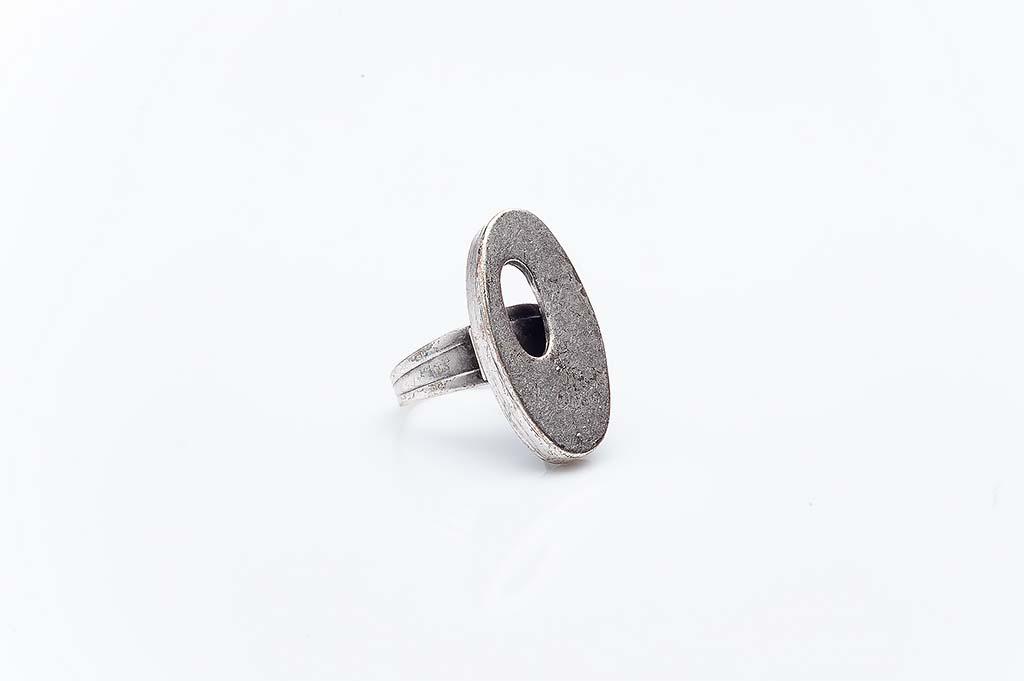 Посребрен пръстен КН-0303004063