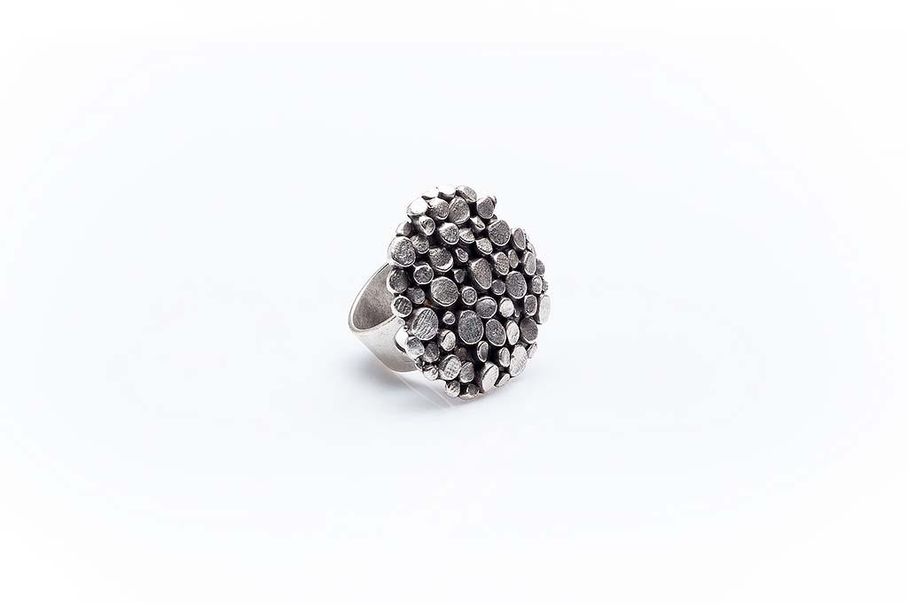 Посребрен пръстен КН-0303004064
